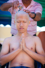 Monks Ordination Ceremony, Thailand