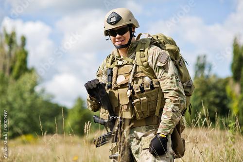 Fotografía  Soldier