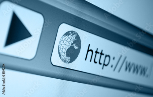 Fotografie, Obraz  Address Bar