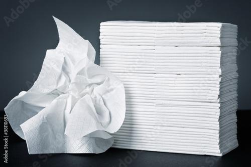 Taschentücher Fototapete