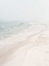 Soft Foggy Seashore