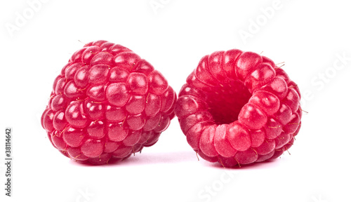 Poster Fruit raspberry