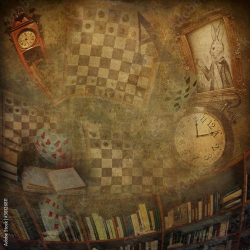 Papiers peints Affiche vintage Abstract background