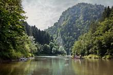 Dunajec River Gorge - Rafting On The Dunajec