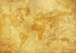 canvas print picture - Old World Map