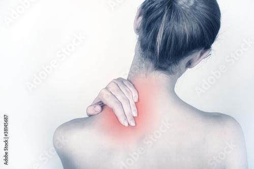 Fotografía Acute neck pain