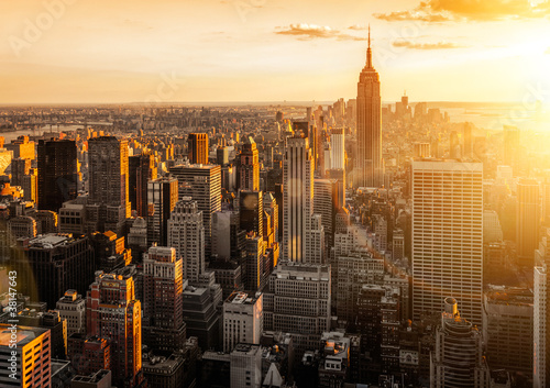 Photo sur Toile New York New York