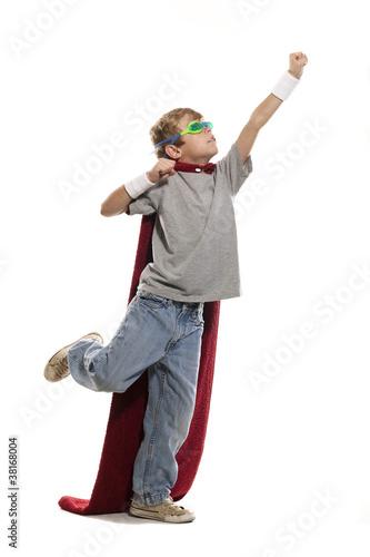 Photo  Young Super Hero