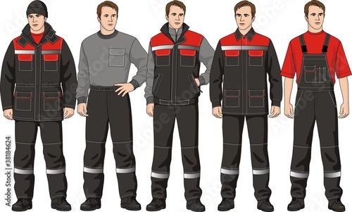 Cuadros en Lienzo The clothes complete set