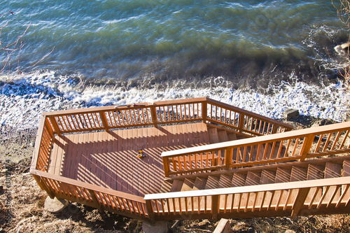 Fotografie, Obraz  wooden deck