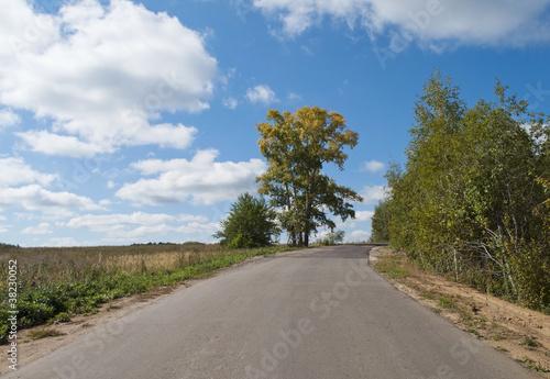 Fototapeta Country road obraz na płótnie