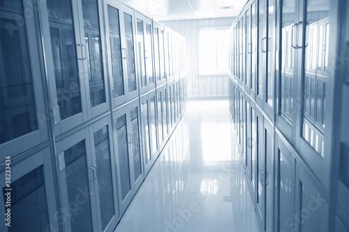 Fotografiet  lab interior