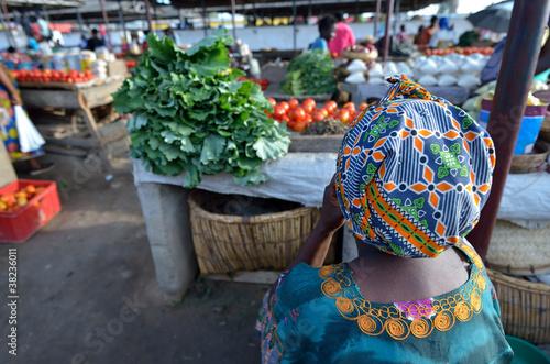 Photo mercato Africano