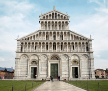 Pisa - Facade Of Cathedral - P...