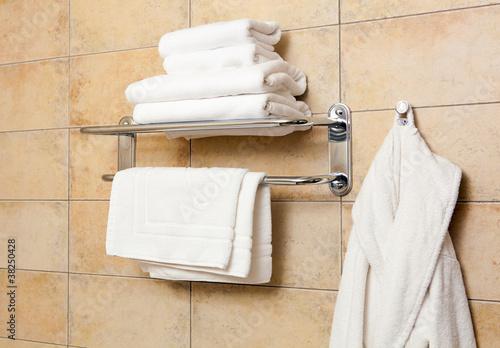 Fotografie, Obraz  Towels and bathrobes