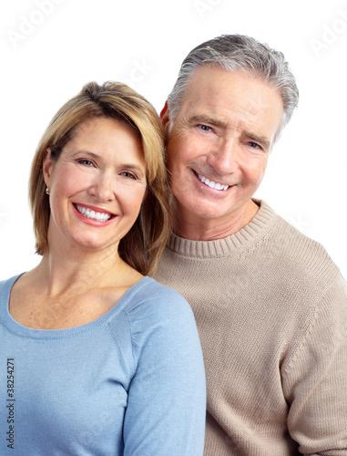 Happy elderly couple. #38254271