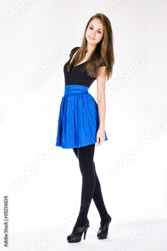 Slender young model. - Buy this stock photo and explore similar ...