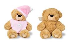 Two Teddy Bears - Twins