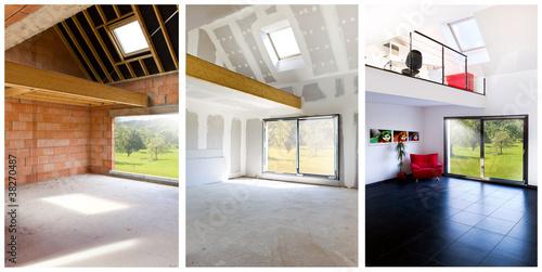 Fotografía  Concept construction mezzanine