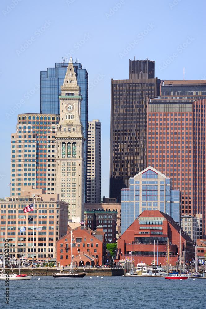 Fototapeta Boston waterfront