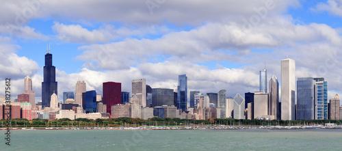 chicago-skyline-nad-jeziorem-michigan