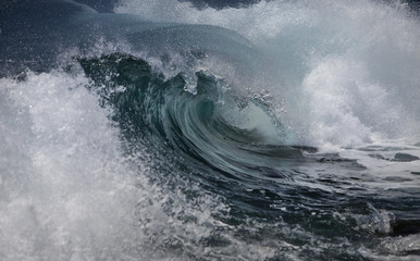 Panel Szklany Do kabiny prysznicowej Ocean wave