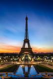 Fototapeta Wieża Eiffla - Tour Eiffel Paris France