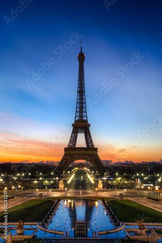 Obraz Tour Eiffel Paris France - fototapety do salonu