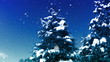 Snow Forest realistic animation 5