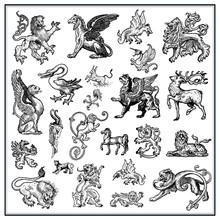 Heraldic Beast Collction