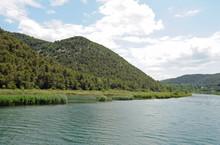 Parc National De La Krka - À L'approche De Skradinski Buk
