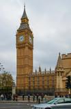 Fototapeta Londyn - big ben w londynie