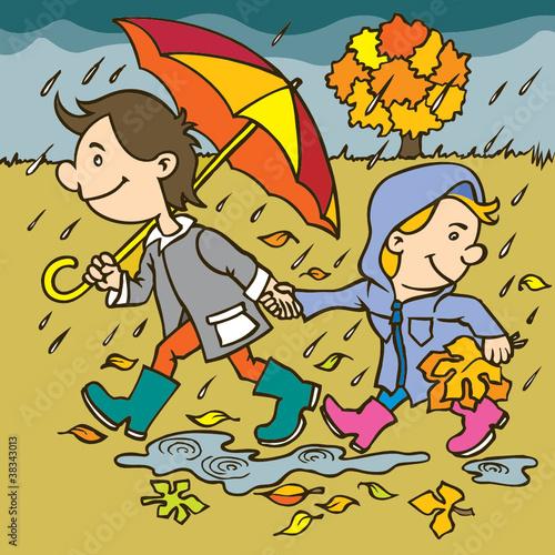 ilustracja-jesien-ilustracji-rysunku