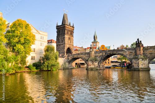 Staande foto Praag Bridge in Prague