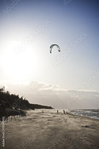 Photo  Kiteboarding