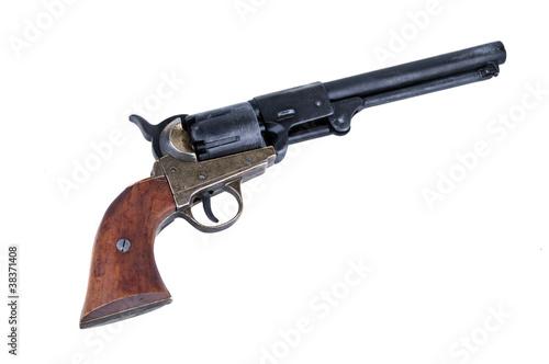 Fotografie, Obraz  old metal colt revolver