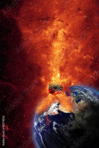 Armageddon Fototapet