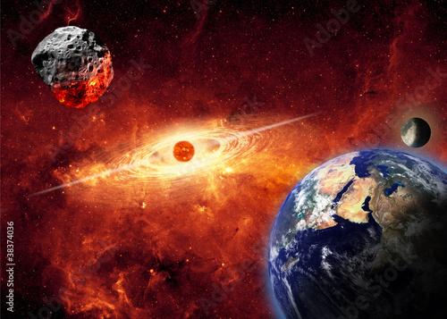 Valokuvatapetti Armageddon