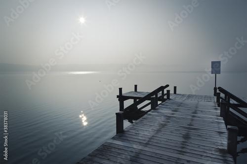 Fototapety, obrazy: winter jetty