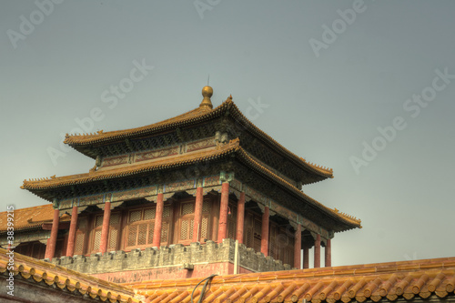 Foto op Aluminium Beijing Beijing (Peking), China - Forbidden City, Culture, Life