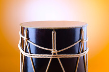 Traditional Azeri Drum Called ...