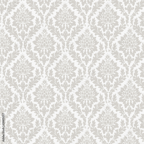 Tapeta do salonu  seamless-damask-wallpaper
