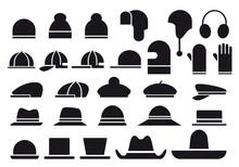 Various Vector Hats