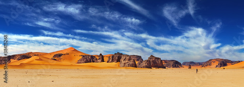 Photo Stands Africa Sahara Desert, Algeria