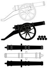 Ancient Artillery Gun XVIII - ...