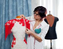 Dressmaker With Mannequin Work...