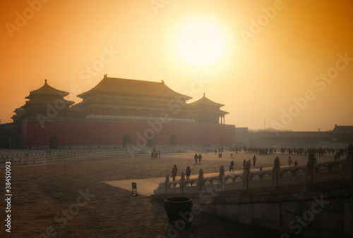 Foto op Aluminium Beijing Forbidden City - Beijing / Peking - China