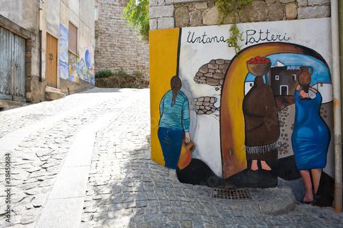 Photo  Orgosolo Murales Sardegna