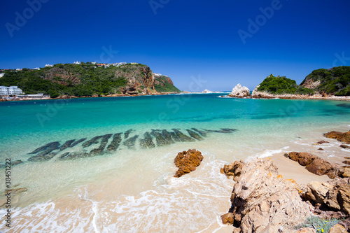 beach in Knysna, Western Cape, South Africa