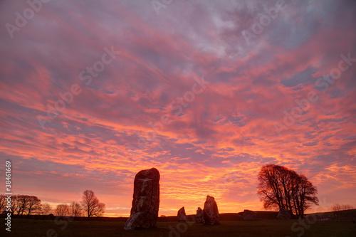 Poster Artistique Avebury Stone Circle